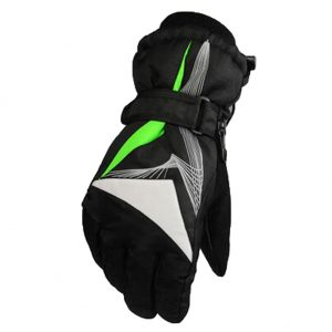 1 Pair Men's Cold-proof Gloves Waterproof Skiing Gloves Warm Gloves, NO.18